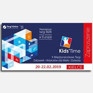 Zapraszamy na jubileuszową X edycję targów KIDS' TIME